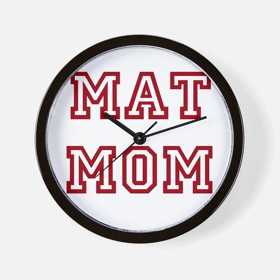 MAT MOM Wall Clock