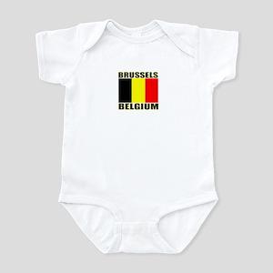 Brussels, Belgium Infant Bodysuit