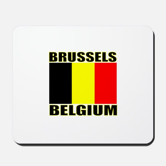 Brussels, Belgium Mousepad