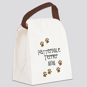 Patterdale Terrier Mom Canvas Lunch Bag