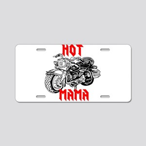 HOT MOTORCYCLE MAMA Aluminum License Plate