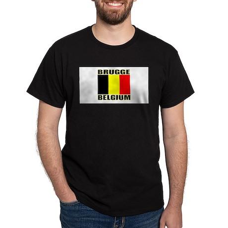 Brugge, Belgium Dark T-Shirt