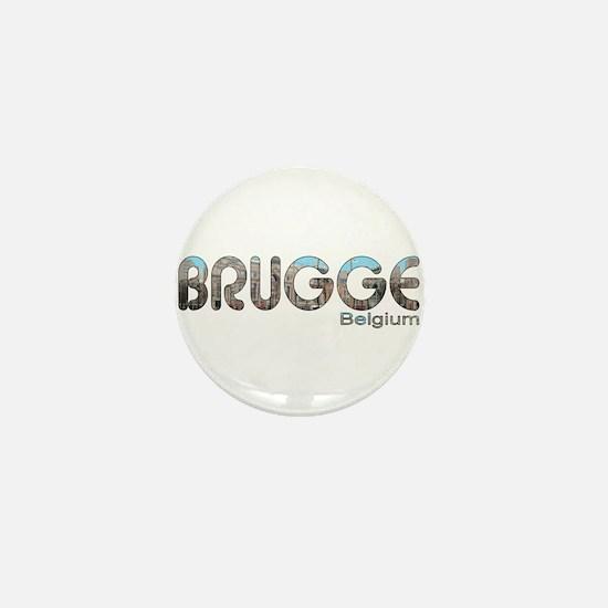 Brugge, Belgium Mini Button