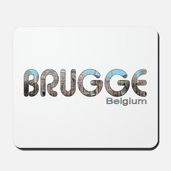 Brugge, Belgium Mousepad