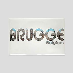 Brugge, Belgium Rectangle Magnet