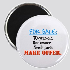 Forsaleoneowner70yearold Magnets