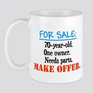 Forsaleoneowner70yearold Mugs