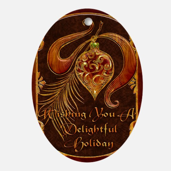 Harvest Moons Ornament Oval Ornament
