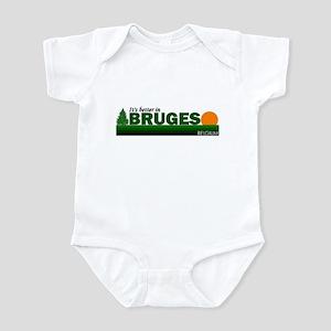 Its Better in Bruges, Belgium Infant Bodysuit