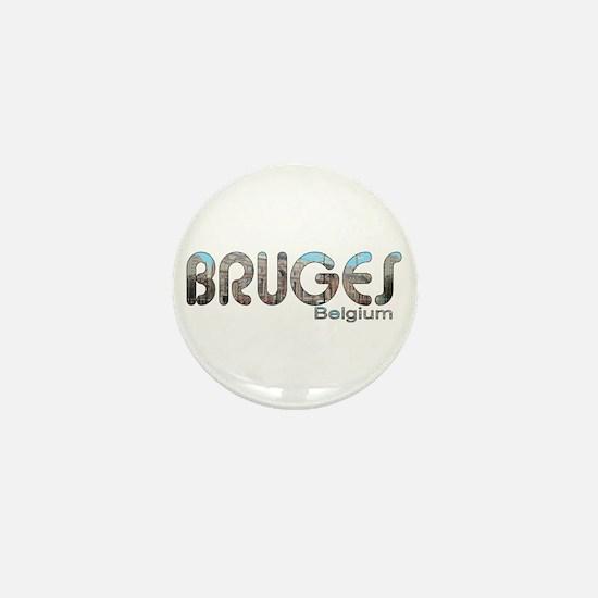 Bruges, Belgium Mini Button