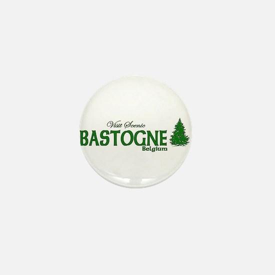 Visit Scenic Bastogne, Belgiu Mini Button