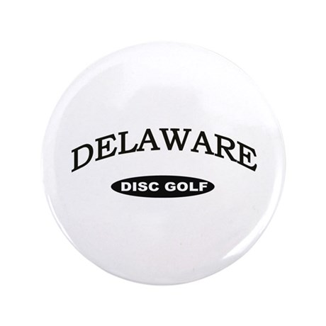 "Delaware Disc Golf 3.5"" Button"