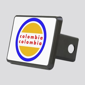 Colombia Pride Rectangular Hitch Cover