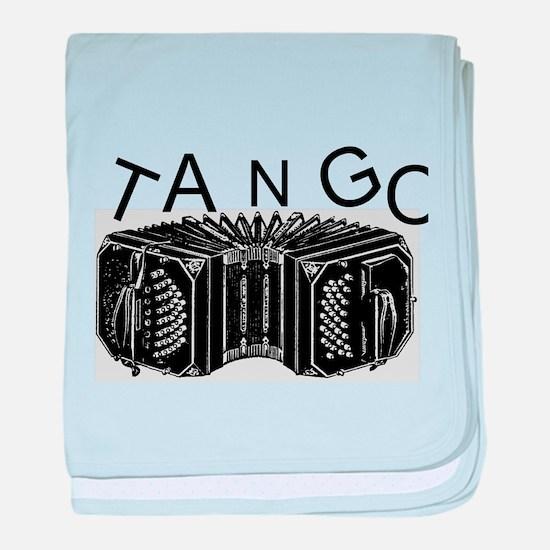 Tango baby blanket