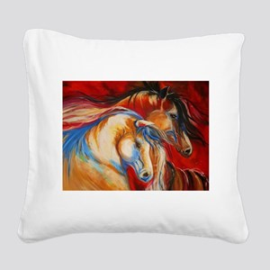 spirit Square Canvas Pillow