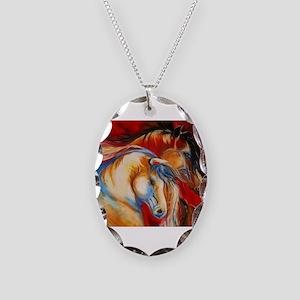 spirit Necklace Oval Charm