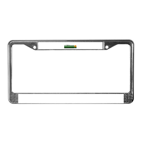 Its Better in Ardennes, Belgi License Plate Frame