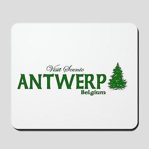 Visit Scenic Antwerp, Belgium Mousepad