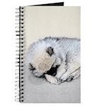 Keeshond Puppy (Sleeping) Journal
