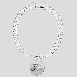 Keeshond Puppy (Sleeping Charm Bracelet, One Charm