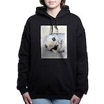 Keeshond Puppy (Sleeping Women's Hooded Sweatshirt