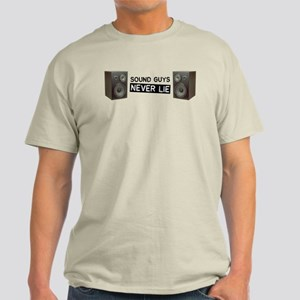 Sound Guys Never Lie Light T-Shirt
