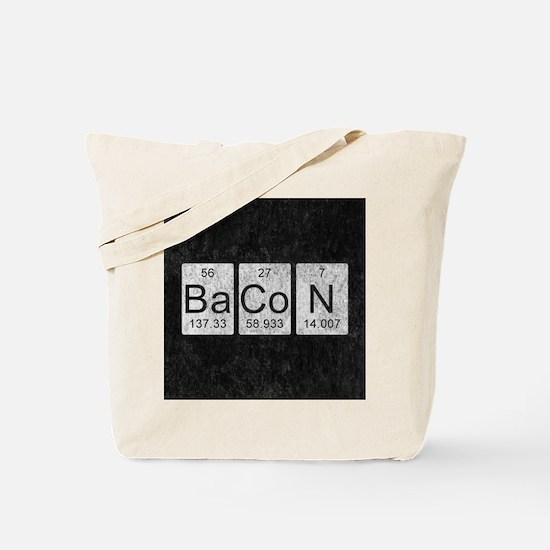 Bacon Chemistry Tote Bag