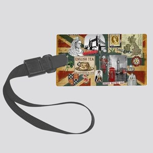 Anglophiles Delight Large Luggage Tag