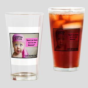 PROLIFE Drinking Glass
