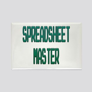 Spreadsheet Master Magnets
