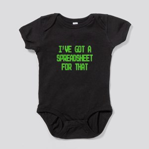Spreadsheet Baby Bodysuit