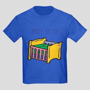 Party in my crib Kids Dark T-Shirt