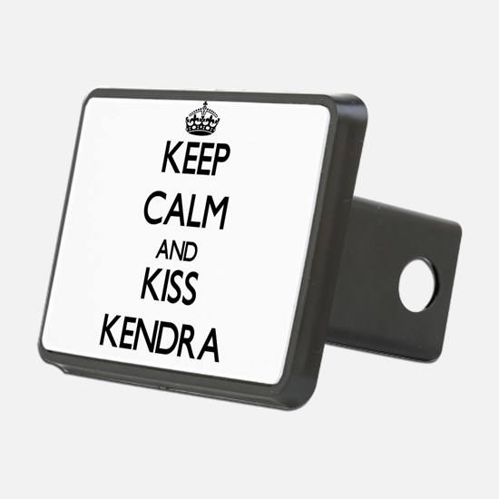Keep Calm and kiss Kendra Hitch Cover