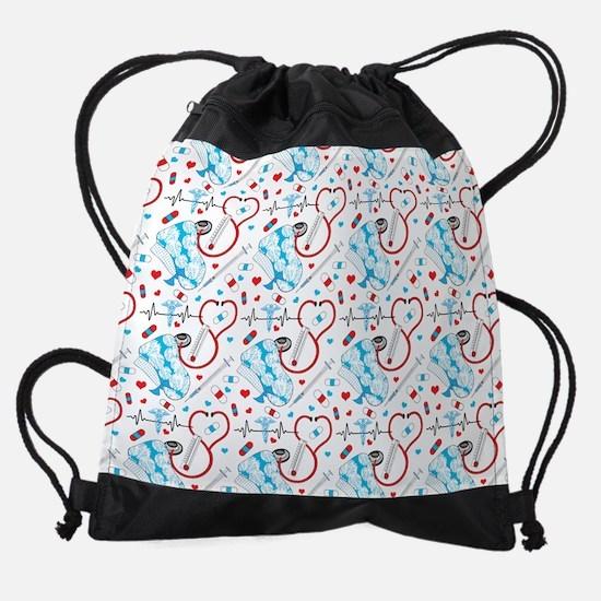Unique Holiday designs Drawstring Bag
