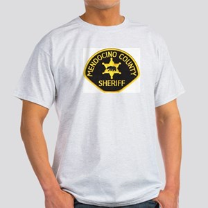 Mendocino County Sheriff Light T-Shirt