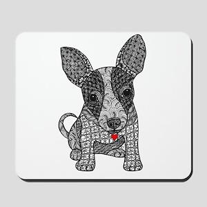 Alert - Chihauhua Mousepad