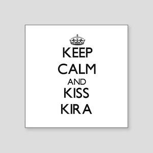 Keep Calm and kiss Kira Sticker