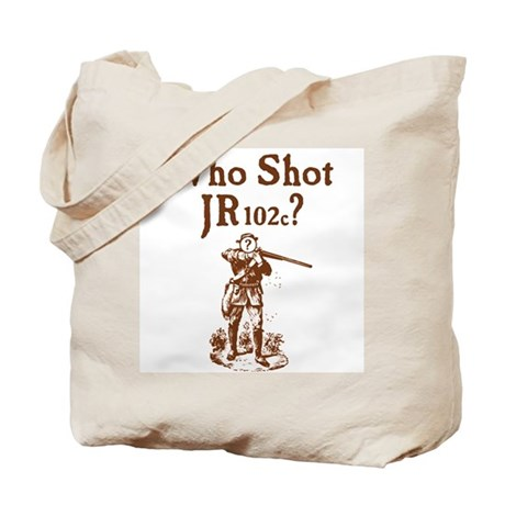 Who Shot JR102c Tote Bag