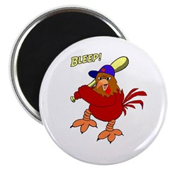 Angry Chicken Magnet
