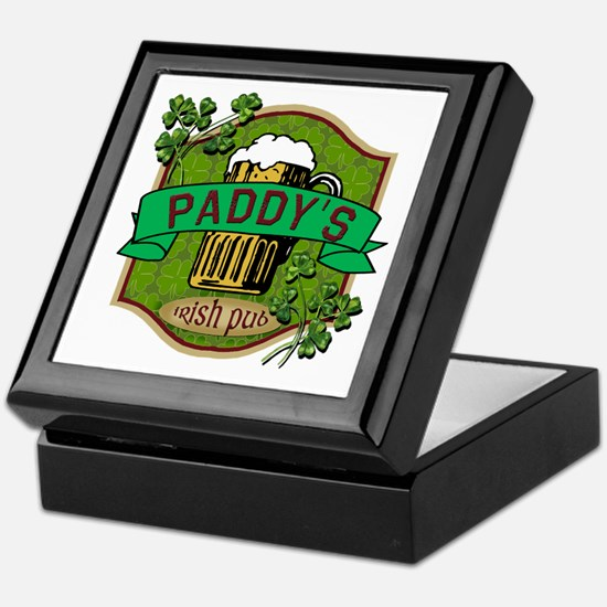 Paddy's Irish Pub Keepsake Box
