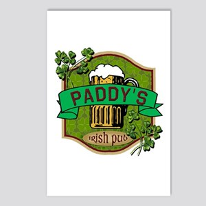 Paddy's Irish Pub Postcards (Package of 8)