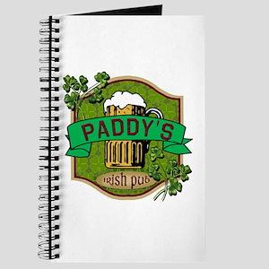 Paddy's Irish Pub Journal