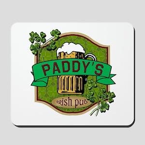 Paddy's Irish Pub Mousepad