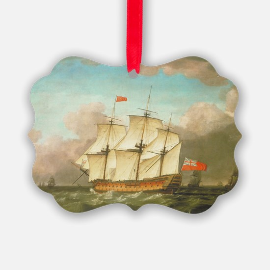 HMS Victory by Monamy Swaine Ornament