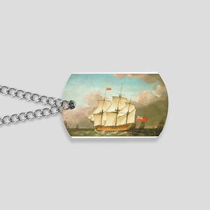 HMS Victory by Monamy Swaine Dog Tags