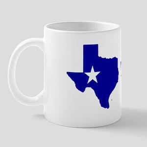 Turn Texas Blue Mug