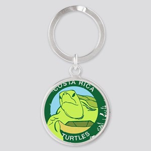 SEA TURTLE RESCUE Round Keychain
