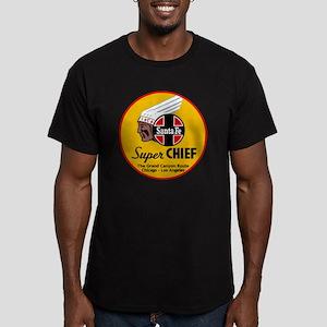 Santa Fe Super Chief1 Men's Fitted T-Shirt (dark)