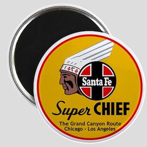 Santa Fe Super Chief1 Magnet