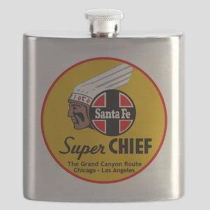 Santa Fe Super Chief1 Flask